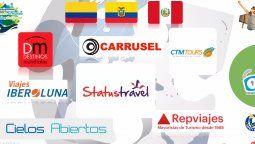 Europamundo y sus socios de Perú, Colombia y Ecuador.