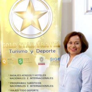 """Rosa Jáuregui, gerenta comercial de Gold Star Travel: """"Nuestro éxito se basa en la recomendación de los clientes y en la innovación de productos"""""""