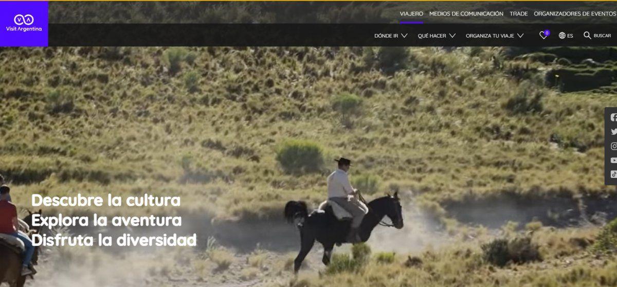 Argentina presentó recientemente argentina.travel