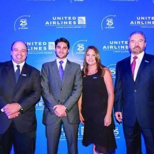 UNITED AIRLINES. Celebración de 25 años de conectar a Ecuador con el mundo