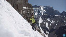 Inprotur Argentina inició 2021 con #MomentosArgentinos, espacio donde se destaca la Cordillera de los Andes.