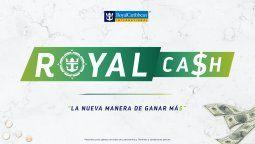 ROYAL CA$H es el nuevo incentivo de Royal Caribbean para los agentes de viajes.