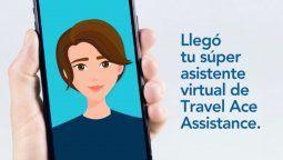 Uni, el chatbot de Travel Ace Assistance.