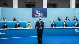 El Plan Paso a Paso presentado por Piñera.