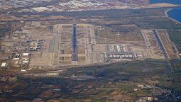 Aeropuerto de El Prat, el más grande de Barcelona y uno de los más congestionados de España.