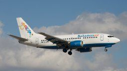 Un Boeing B-737/500 de Bahamasair, una de las aerolíneas clásicas del Caribe.