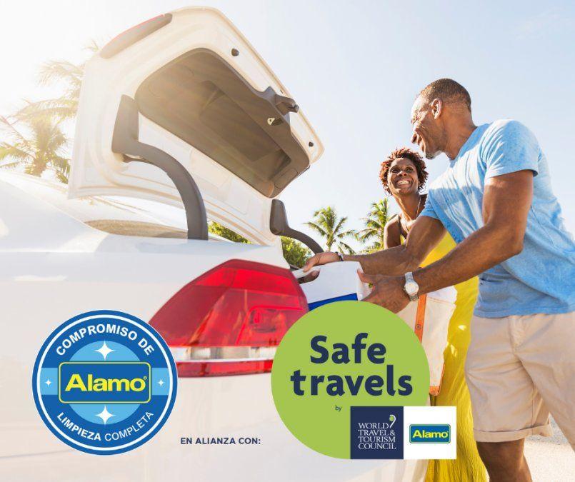 Alamo Rent a Car ha logrado un gran reconocimiento a nivel global, incluyendo los sellos Safe Travels otorgados por WTTC.