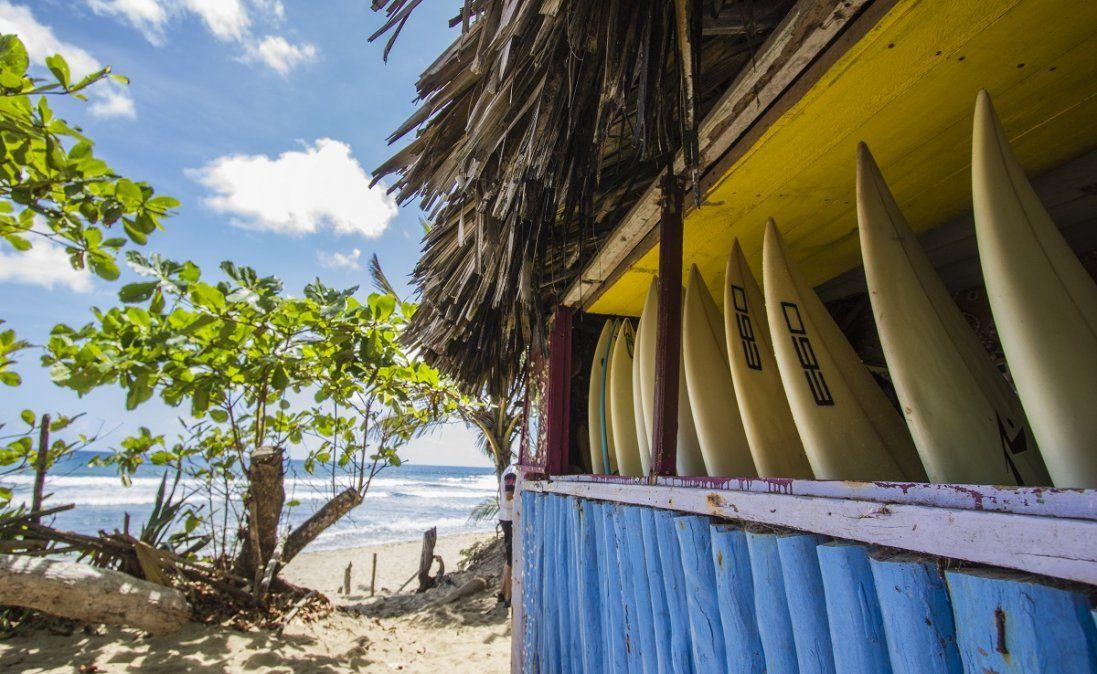 Puerto Plata es un lugar idóneo para practicar surf o kitesurf.