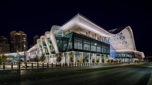 El nuevo e imponente West Hall del Centro de Convenciones de Las Vegas.