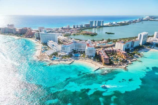 Cancún, el destino preferido por los estadounidenses en el Caribe.