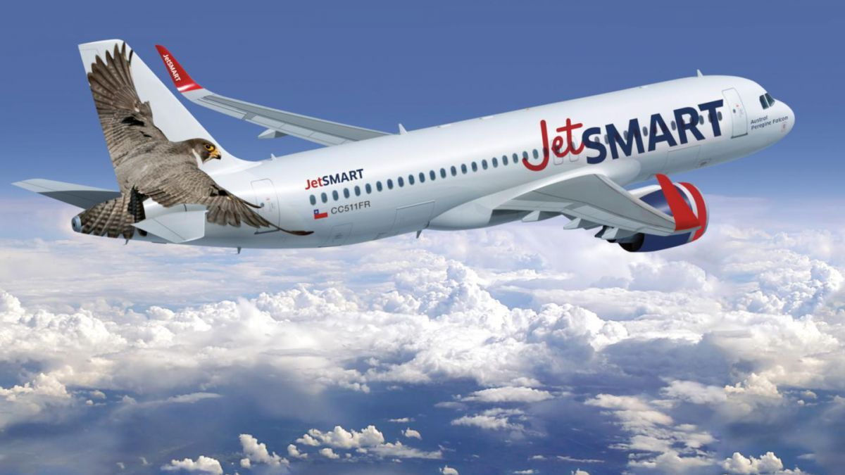 Airbus A320 de JetSmart