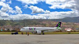 Sky Airline anuncia que las rutas mencionadas se operarán dos veces por semana.