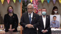 Piñera promulgó la Ley de Apoyo a las Pymes.
