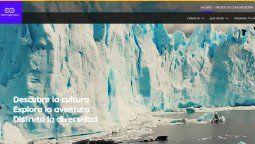 El nuevo sitio web de Argentina ofrece información sobre todos sus destinos, actividades y eventos.