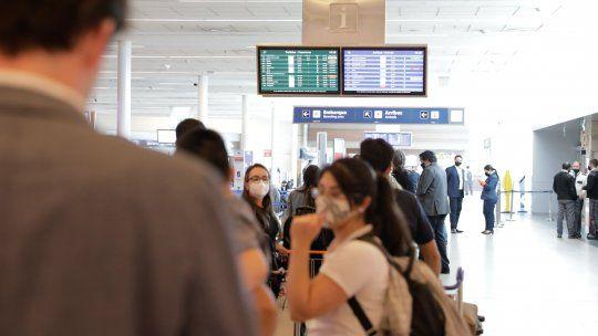 Los vuelos internacionales se reanudaron hace menos de un mes.