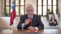 El presidente Sebastián Piñera anunció el fin del Estado de Excepción.