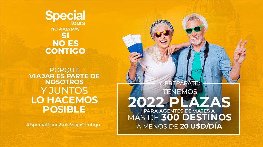Special Tours anunció la oferta de 2022 plazas en más de 300 destinos a menos de US$ 20 por día