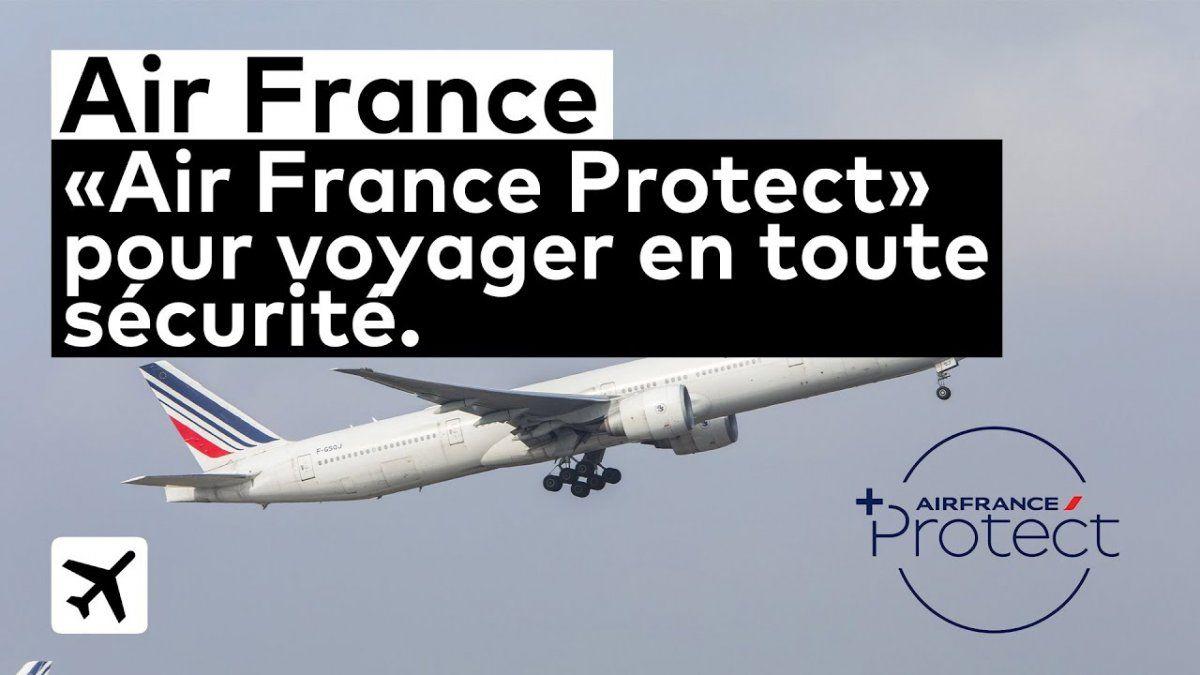AIR FRANCE. Plena confianza para reservar un viaje
