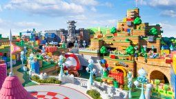 El Super Nintendo World se despliega en varios niveles dentro de Universal Studios Japan.