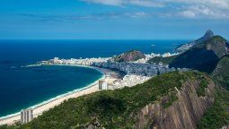 El comercio en las playas de Río está cerrado.