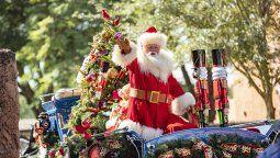 Una Navidad a pura magia en los parques de Disney.