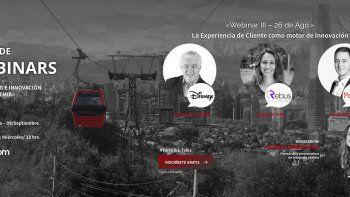 Sernatur y Turistik lanzan ciclo de webinar de innovación