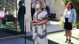 La ceremonia contó con la presencia de la primera dama de la Nación, Cecilia Morel.