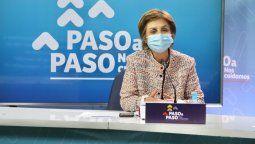 Paula Daza, subsecretaria de Salud Pública.