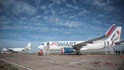 El Airbus A320 es la columna vertebral de los vuelos de JetSmart.