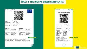 ¿Cómo será el pasaporte Covid aprobado en Europa?