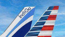 American Airlines e IndiGo presentan un acuerdo de código compartido.