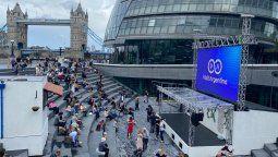 """Argentina realizó la séptima edición del evento """"London Goes Tango""""en Londres."""