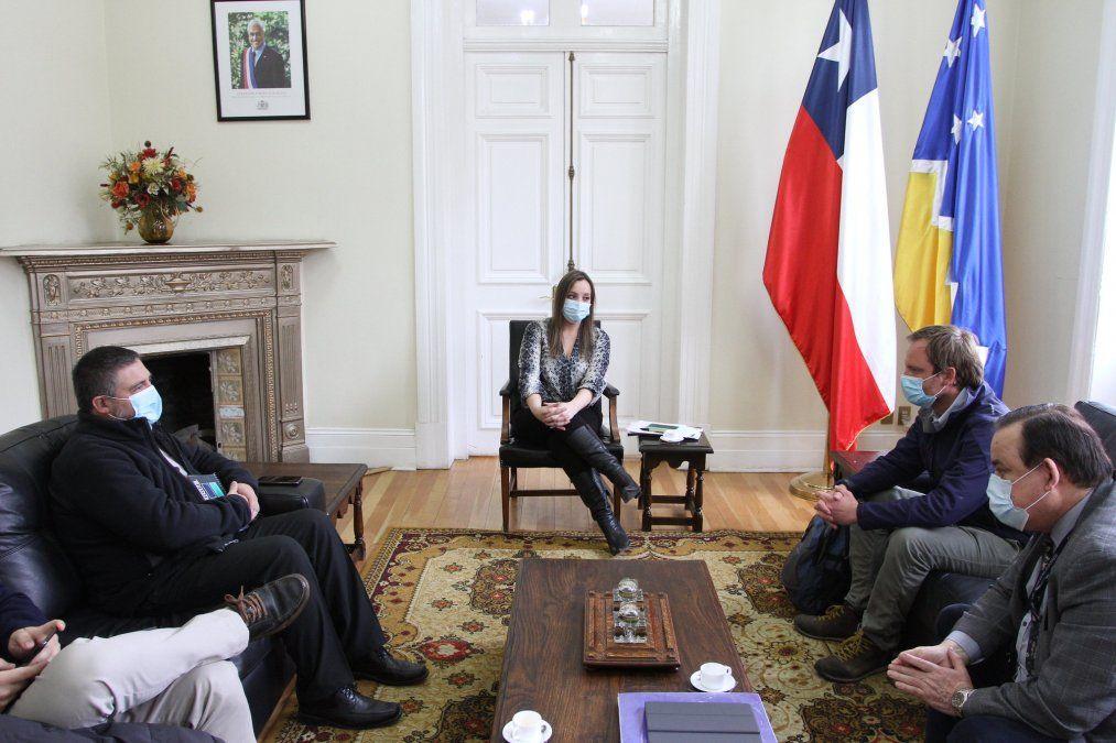 El subsecretario de Redes Asistenciales junto a autoridades de la Región de Magallanes y Antártica Chilena.