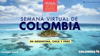 Llega la Semana Virtual de Colombia a Chile