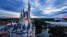 El Castillo de Cenicienta en Disney, Florida.