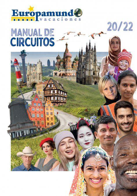 El folleto válido hasta marzo de 2022 de Europamundo.