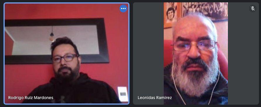 Rodrigo Ruiz y Leonidas Ramírez