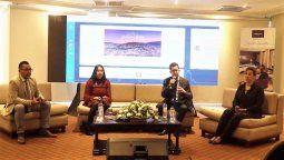 """Rueda de prensa de la """"Destination Quito Travel Expo 2021""""."""