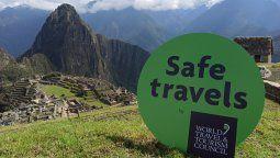 En una ceremonia realizada en Machu Picchu, el WTTC otorgó a Perú el sello internacional Safe Travels.