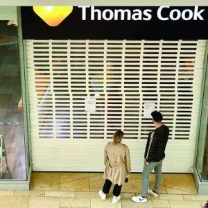 El antes y el después del funeral de Thomas Cook