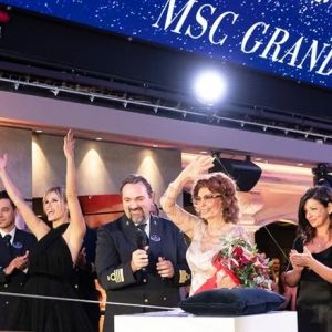 NAVEGACRUCEROS. Gran inauguración del MSC Grandiosa