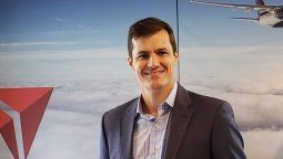 Luciano Macagno, director general de Delta para América Latina, el Caribe y sur de Florida.