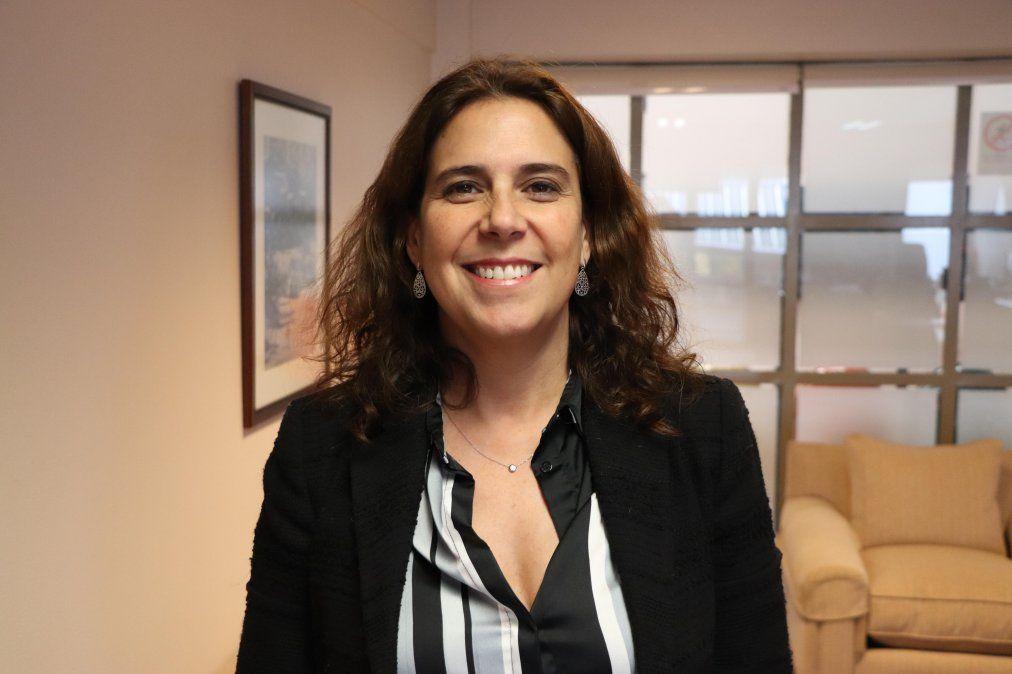 Andrea Wolleter, directora nacional del Servicio Nacional de Turismo (Sernatur).