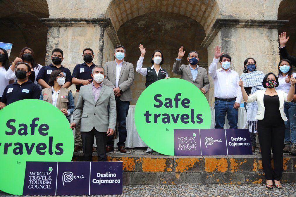 Mincetur realiza la entrega del sello Safe Travels a los destinos de Cajamarca y Selva Central