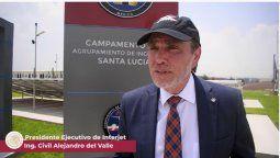 Alejandro del Valle, presidente del Consejo de Administración de Interjet.