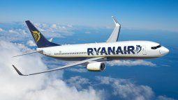 Un Boeing B-737/800 de Ryanair, la principal low cost airlines de Europa.