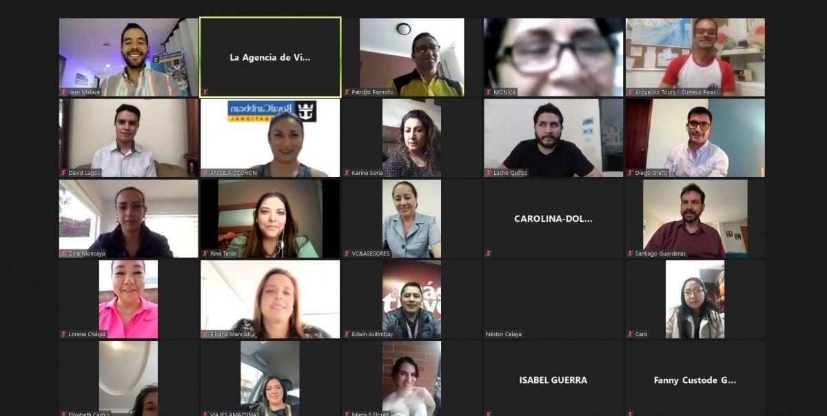 Conversatorio Social Media organizado por Viajes Amazonas