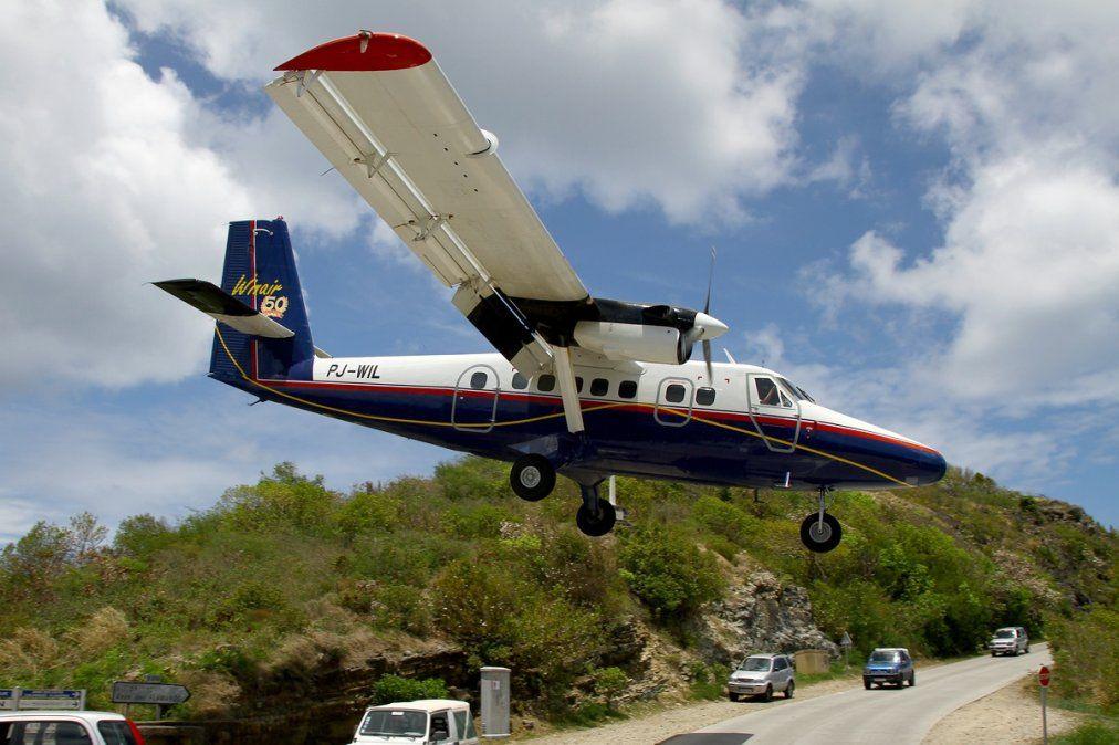 Un DHC-6 Twin Otter de Winair.