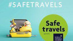 Argentina se sumó a la lista de destinos internacionales que han obtenido el Safe Travels Stamp que otorga el WTTC. Inprotur recibió la distinción.