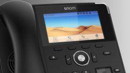 Snom diseñó un equipamiento tecnológico innovador en el segmento de las telecomunicaciones.